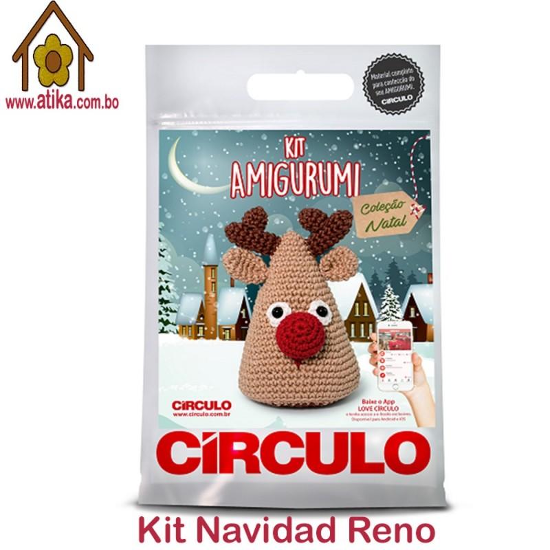 Reno Navidad - laMarietta, amigurumis personalizados hechos a mano | 800x800