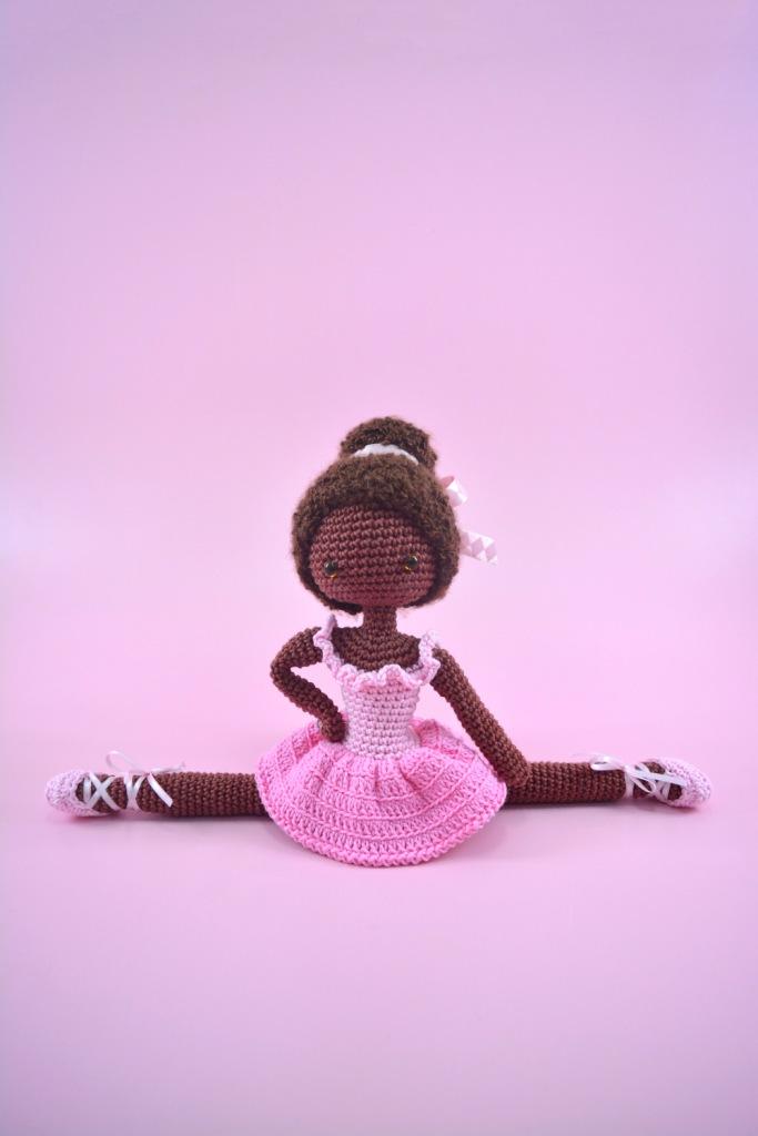 Boneca bailarina amigurumi no Elo7 | Natalia JL (D74B15) | 1024x683